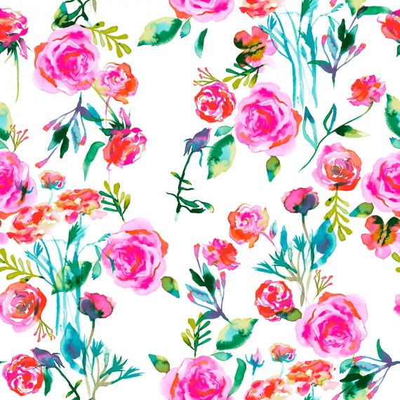 Roses-bouquet-pattern
