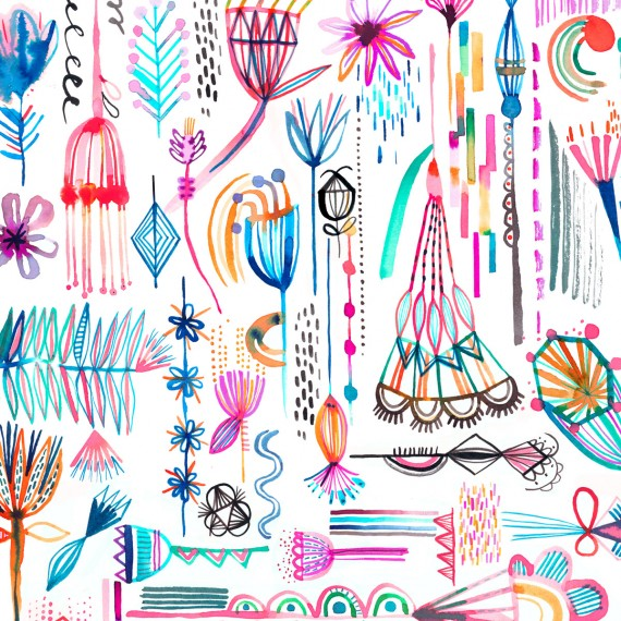 Ninola-Design-Imaginary-Geometric-Flowers-Multicolored-2-snippet-2