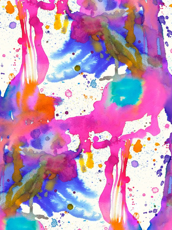 paint splashes dripping watercolor