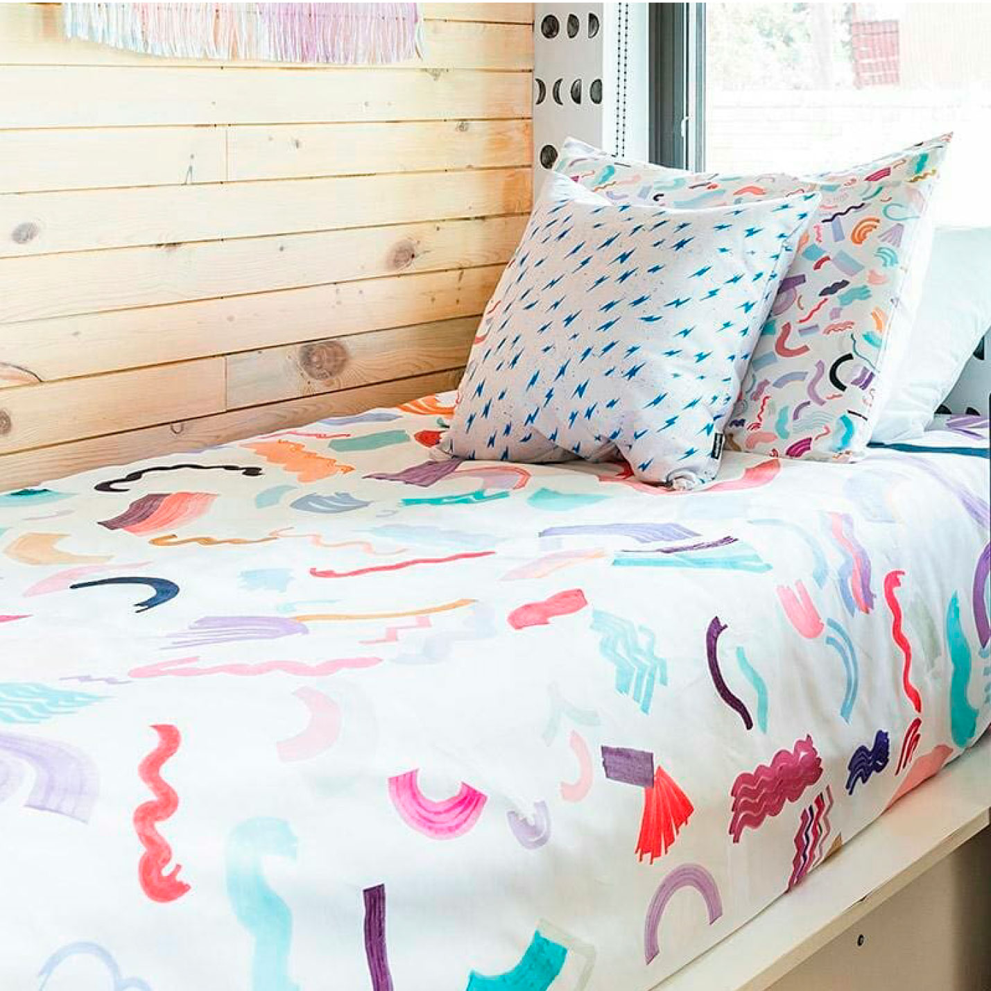 Ninola Design watercolor design for bed linen