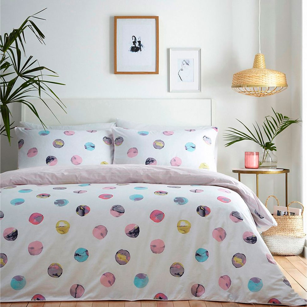 Ninola-design-Debenhams-duvet-watercolor-dots